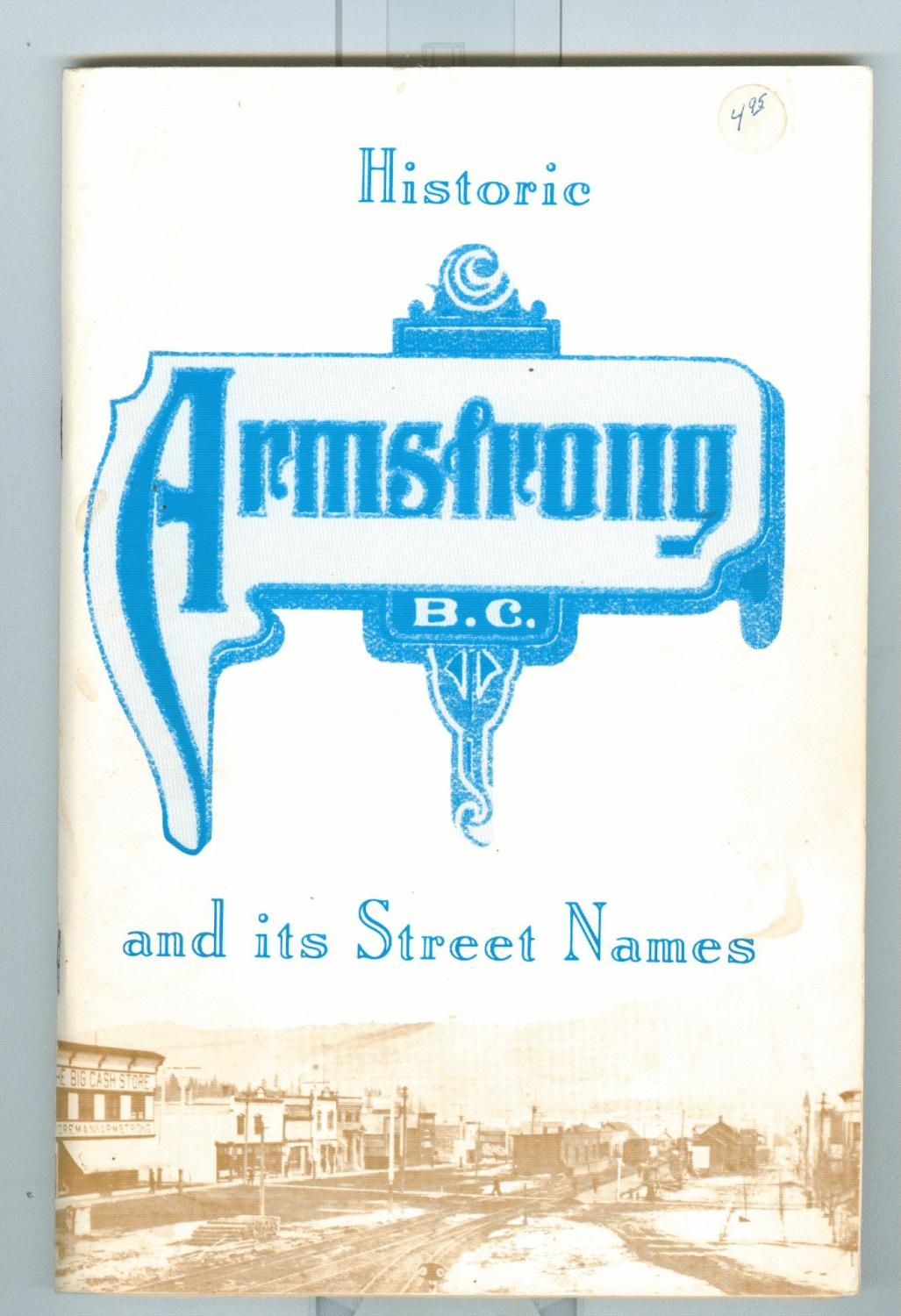 Historic Armstrong and Its Street Names