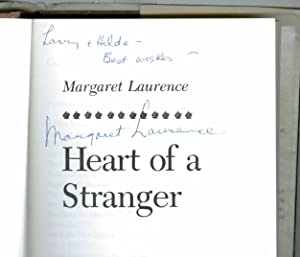 Heart of a Stranger ( Signed) ( Presumed First Edition no other date )