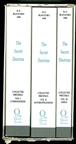The Secret Doctrine Collected Writings of HP Blavatsky (Three Volume Set in a Slipcase)