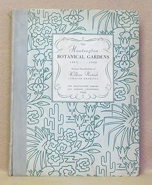 The Huntington Botanical Gardens 1905.1949