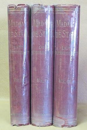 Madame De Stael: Lady Blennerhassett