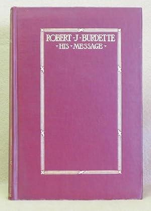 Robert J. Burdette: His Message: Burdette, Clara B.
