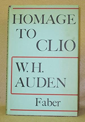 Homage to Clio: Auden, W.H.