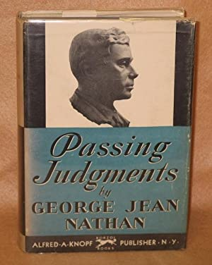 Passing Judgments: Nathan, George Jean