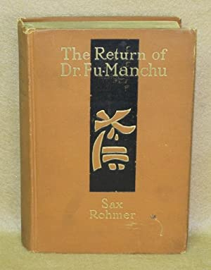 The Return of Dr. Fu - Manchu: Rohmer, Sax