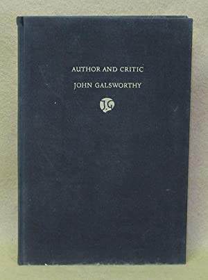 Author and Critic: Galsworthy, John