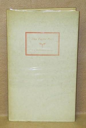 Three Fugitive Pieces: Graham, R.B. Cunninghame