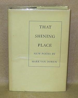 That Shining Place: Van Doren, Mark
