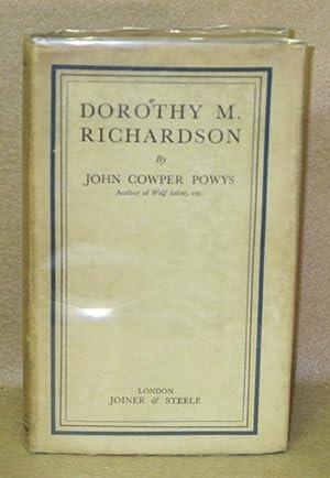 Dorothy M. Richardson: Powys, John Cowper