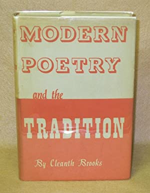 Modern Poetry and The Tradition: Brooks, Cleanth