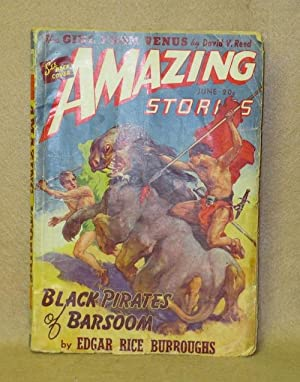 Amazing Stories Magazine. June 1941. Volume 15. Number 6