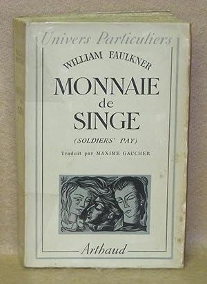 Monnaie De Singe (Soldiers' Pay): Faulkner, William