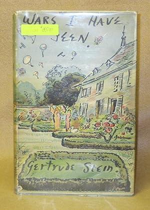 Wars I Have Seen: Stein, Gertrude