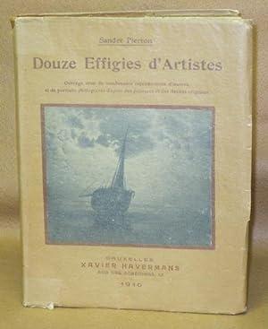 Douze Effigies d'Artistes: Pierron, Sander