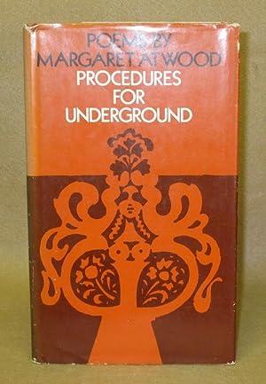 Procedures For Underground: Atwood, Margaret