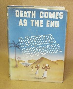 Death Comes As The End: Christie, Agatha