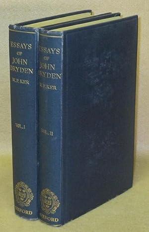 Essays of John Dryden: Ker, W.P.