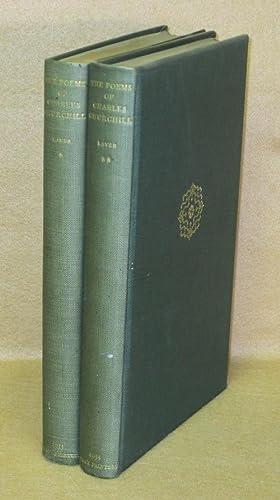 Poems of Charles Churchill: Laver, James