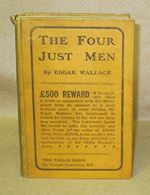 The Four Just Men: Wallace, Edgar