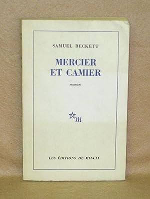 Mercier Et Camier: Beckett, Samuel