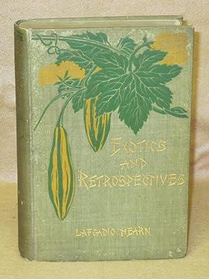 Exotics and Retrospectives: Hearn, Lafcadio