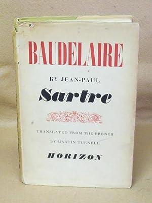 Baudelaire: Sartre, Jean-Paul