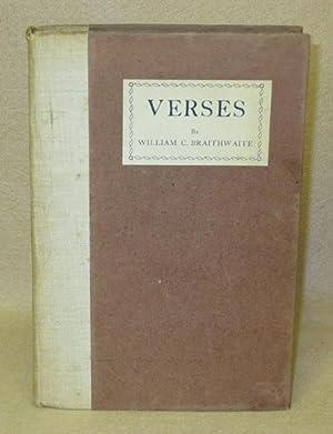 Verses: Braithwaite, William C.