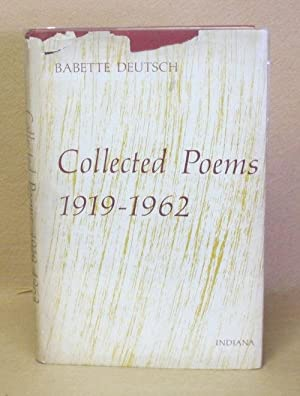 Collected Poems 1919-1962: Deutsch, Babette