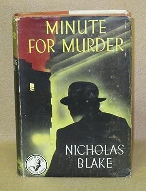 Minute For Murder: Blake, Nicholas