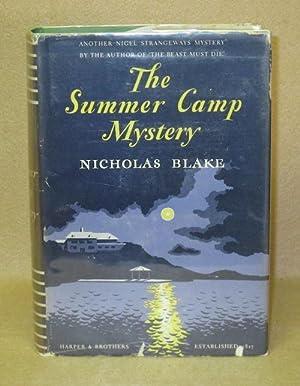 The Summer Camp Mystery: Blake, Nicholas