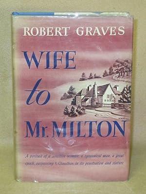 Wife to Mr. Milton: Graves, Robert