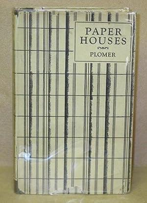 Paper Houses: Plomer, William