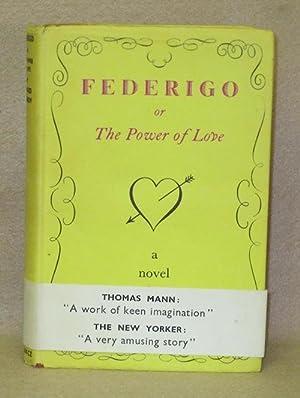 Federigo or The Power of Love: Nemerov, Howard