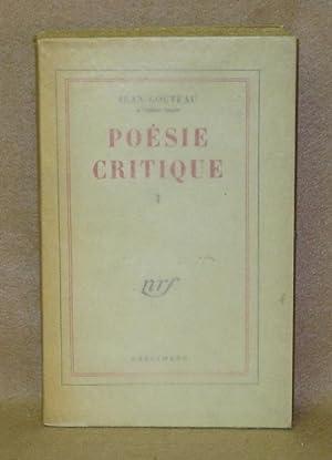 Poésie Critique: Cocteau, Jean
