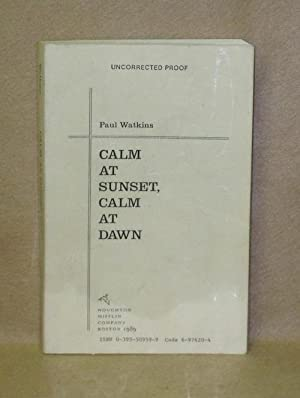 Calm At Sunset, Calm At Dawn: Watkins, Paul