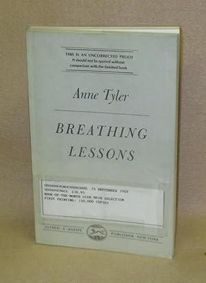 Breathing Lessons: Tyler, Anne