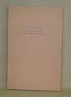 Platons Lehre Von Der Wahrheit: Heidegger, Martin
