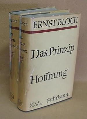 Das Prinzip Hoffnung: Bloch, Ernst