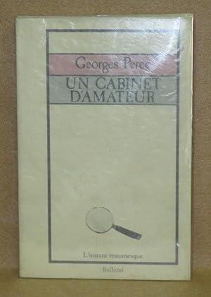 Un Cabinet D'Amateur: Perec, Georges