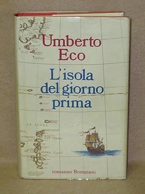 L'isola del giorno prima: Eco, Umberto