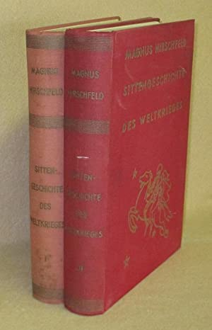 Sittengeschichte Des Weltkrieges: Hirschfeld, Magnus