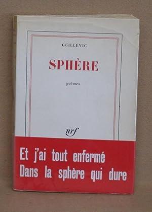 Sphère: Guillevic