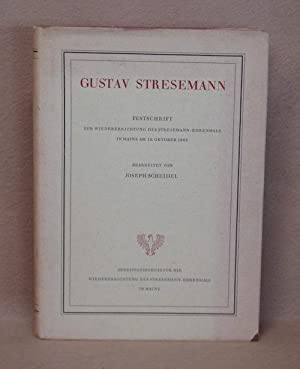 Gustav Stresemann: Scheidel, Joseph