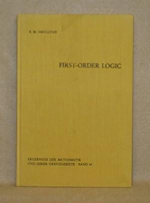 First-Order Logic: Smullyan, R.M.