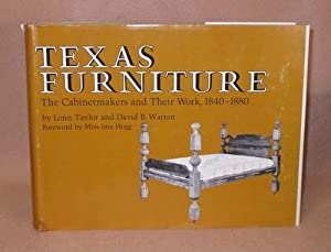 Texas Furniture: Taylor, Lonn and David B. Warren