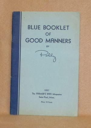 Blue Booklet of Good Manners: Polly