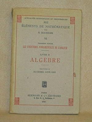 Éléments De Mathématique. Premiere Partie Les Structures Fondamentales De L&#...