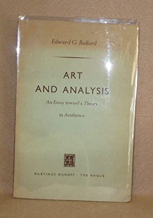 Art and Analysis: Ballard, Edward G.