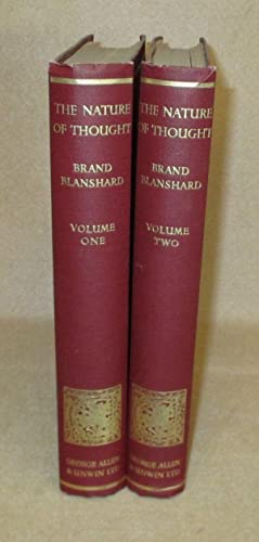 The Nature Of Thought: Blanshard, Brand