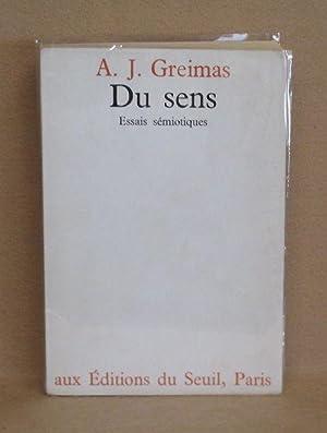 Du Sens: Greimas, A.J.